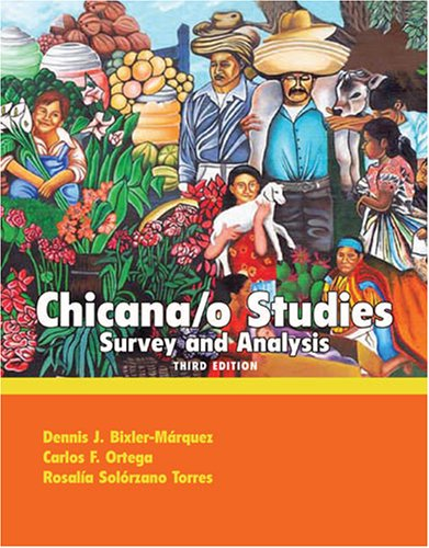 Chicano Studies Survey and Analysis 3rd 2007 (Revised) edition cover