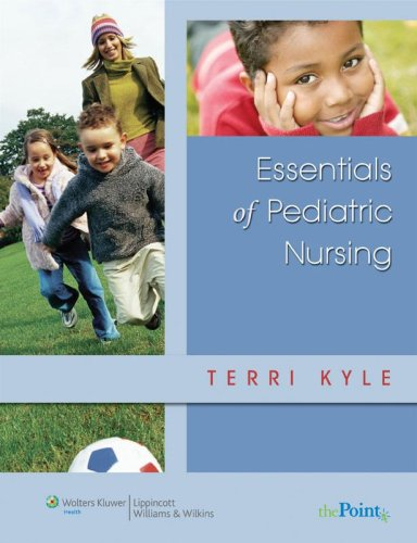Essentials of Pediatric Nursing   2007 edition cover