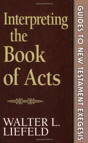 Interpreting the Book of Acts  N/A edition cover