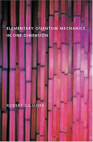 Elementary Quantum Mechanics in One Dimension   2004 edition cover