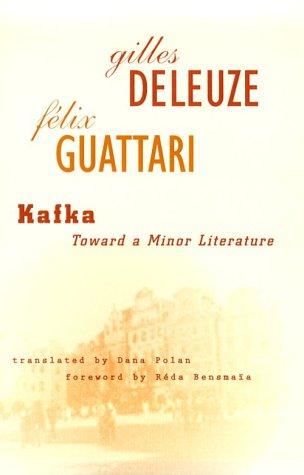Kafka Toward a Minor Literature N/A edition cover