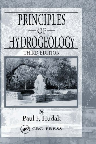 Principles of Hydrogeology  3rd 2004 (Revised) 9780849330155 Front Cover