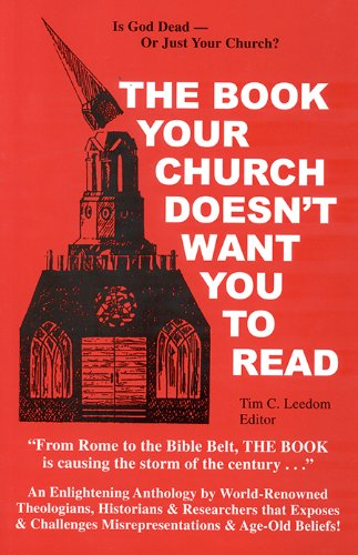 Book Your Church Doesn't Want You to Read 1st (Reprint) edition cover