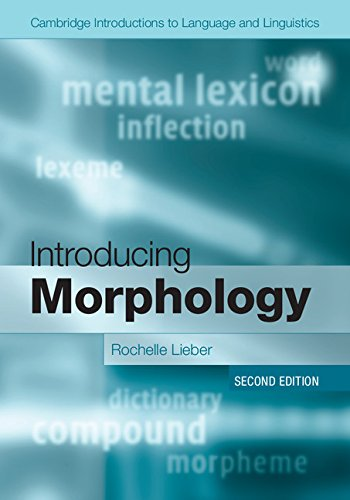 Introducing Morphology  2nd 2015 (Revised) 9781107480155 Front Cover