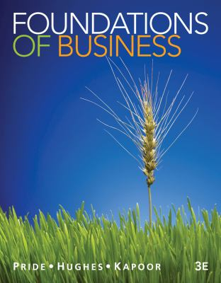 Foundations of Business  3rd 2013 edition cover