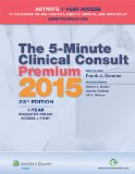 5-Minute Clinical Consult Premium 2015  23rd 2014 edition cover