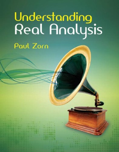 Understanding Real Analysis   2011 edition cover