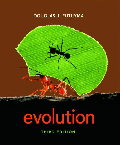 Evolution  3rd 2013 (Revised) edition cover