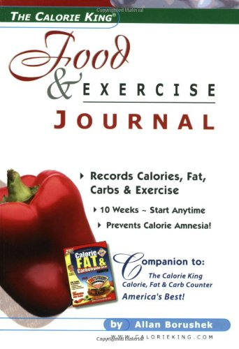 CalorieKing Food and Exercise Journal  N/A edition cover