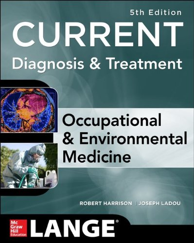 CURRENT Occupational and Environmental Medicine 5/e  5th 2014 edition cover