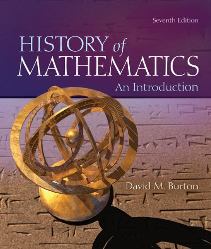 History of Mathematics An Introduction 7th 2011 edition cover