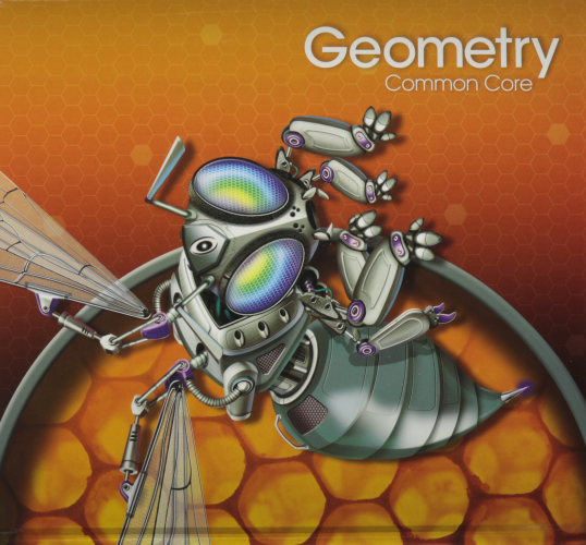 High School Math 2015 Common Core Geometry Student Edition Grades 9/10   2015 9780133281156 Front Cover