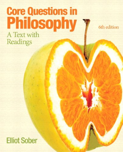 Core Questions in Philosophy A Text with Readings 6th 2013 edition cover