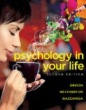 Psychology in Your Life:   2016 9780393265156 Front Cover