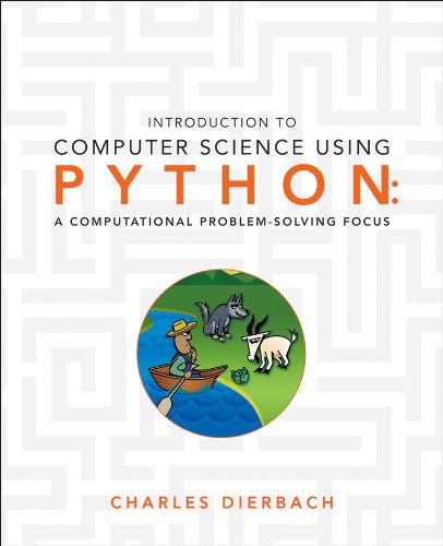 Introduction to Computer Science Using Python A Computational Problem-Solving Focus  2013 edition cover