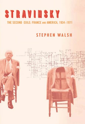 Stravinsky The Second Exile: France and America, 1934-1971  2006 9780520256156 Front Cover