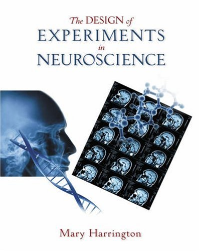 Design of Experiments in Neuroscience   2006 edition cover