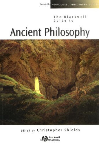 Blackwell Guide to Ancient Philosophy   2003 edition cover