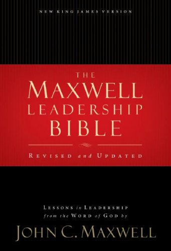 Maxwell Leadership Bible  2nd 2007 (Revised) edition cover