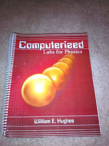 Computerized Labs for Physics  Revised  9780757502156 Front Cover