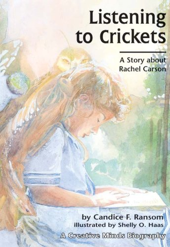 Listening to Crickets A Story about Rachel Carson  1993 edition cover