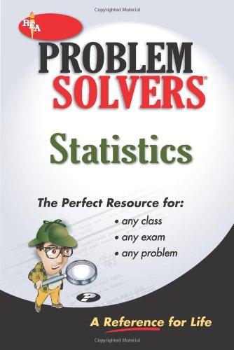 Statistics Problem Solver   2000 (Revised) edition cover