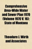 Comprehensive Area-Wide Water and Sewer Plan 1970; State of Montan N/A edition cover