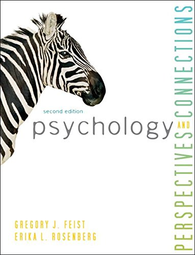Psychology: Perspectives & Connections  2013 9781259151156 Front Cover