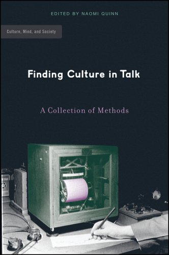 Finding Culture in Talk A Collection of Methods  2005 edition cover