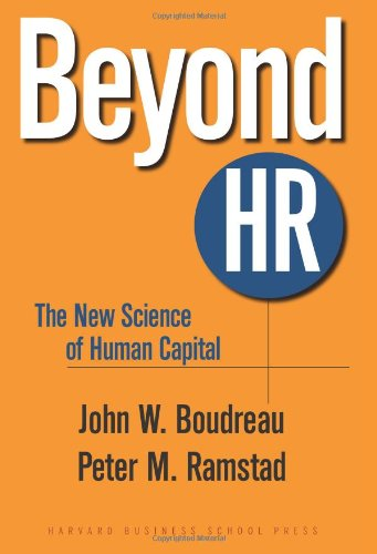 Beyond HR The New Science of Human Capital  2007 edition cover