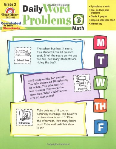 Daily Word Problems, Grade 3  N/A edition cover