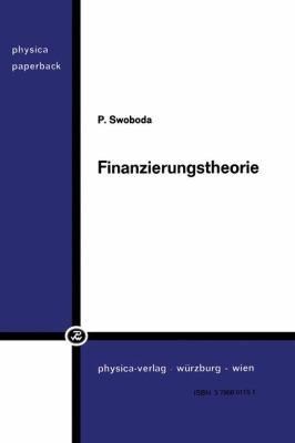 Finanzierungstheorie   1973 9783790801156 Front Cover