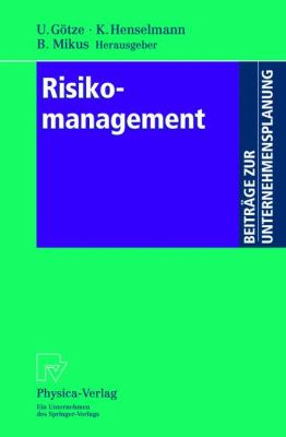 Risikomanagement   2001 9783790814156 Front Cover