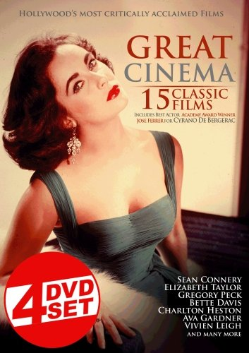 Great Cinema: 15 Classic Films (4 Disc Set) System.Collections.Generic.List`1[System.String] artwork