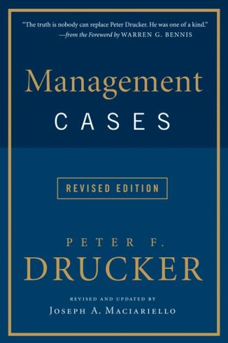 Management Cases   2008 (Revised) edition cover