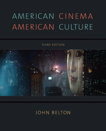 American Cinema/American Culture  3rd 2009 edition cover