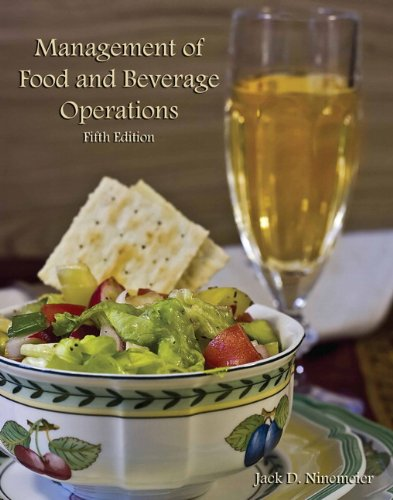 Management of Food and Beverage Operations (Ahlei):   2012 edition cover