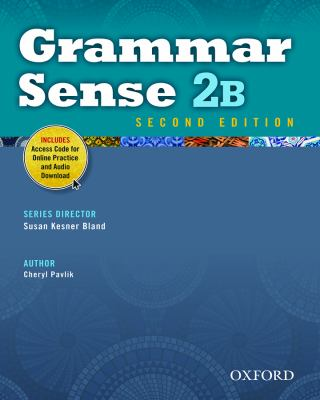 Grammar Sense  2nd (Student Manual, Study Guide, etc.) edition cover