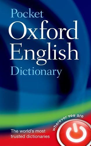 Pocket Oxford English Dictionary  11th 2013 edition cover