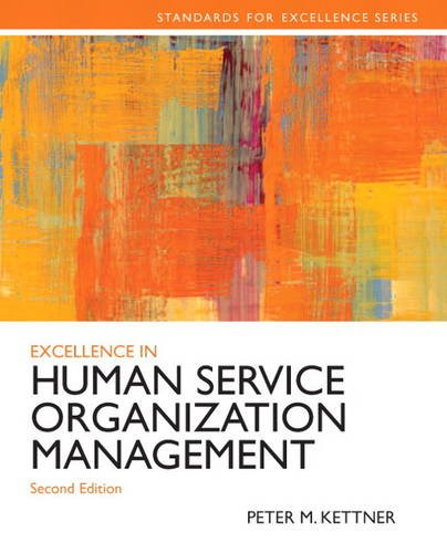 Excellence in Human Service Organization Management  2nd 2014 edition cover
