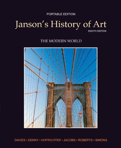 Janson's History of Art  8th 2012 (Revised) edition cover