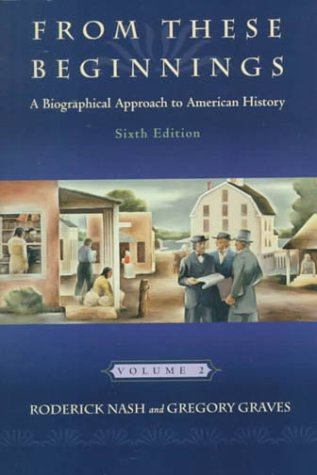 Biographical Approach to American History  6th 2000 9780321003157 Front Cover