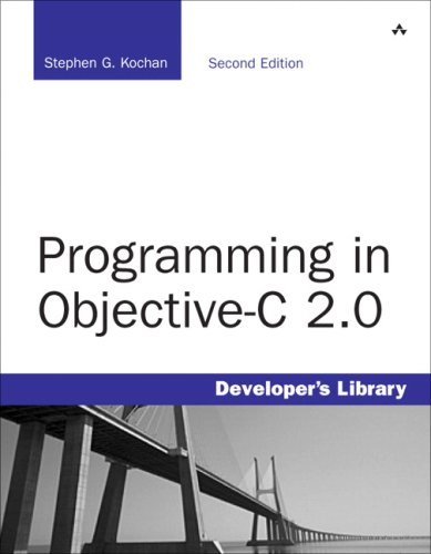 Programming in Objective-C 2.0  2nd 2009 edition cover