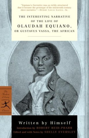Interesting Narrative of the Life of Olaudah Equiano Or, Gustavus Vassa, the African  2003 (Reprint) edition cover