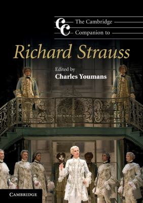 Cambridge Companion to Richard Strauss   2010 edition cover