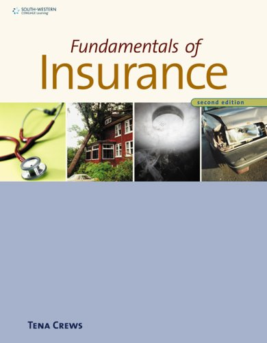 Fundamentals of Insurance  2nd 2010 edition cover
