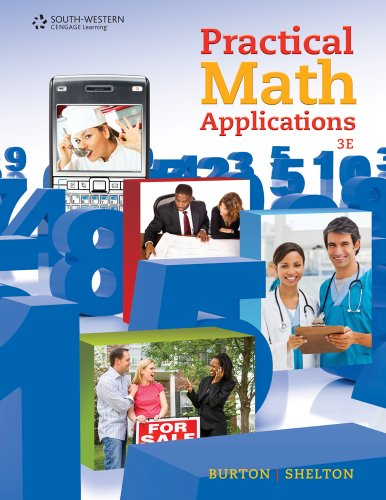 Practical Math Applications  3rd 2011 edition cover