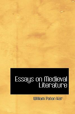 Essays on Medieval Literature:   2008 edition cover
