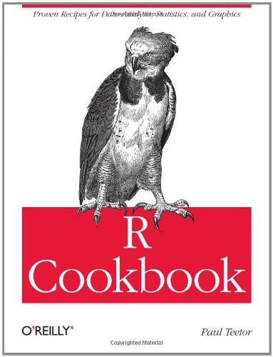 R Cookbook   2011 edition cover