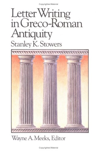 Letter Writing in Greco-Roman Antiquity  N/A edition cover